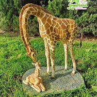 Giraffes Cake - Jirafas The Challenge