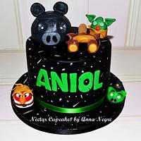 Angry Birds Star Wars by nectarcupcakes