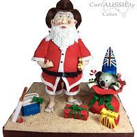 Aussie Santa : Santas passport collaboration