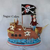 Pirate Cake & Captain Hook