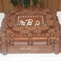 Chocolate Lovers Groom's cake