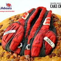 Lifejacket Cake - RNLI Sugar Shipmates Collaboration