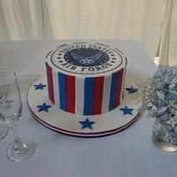 Air Force Grooms' Cake