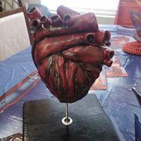 Human Heart Cake by Alissa Newlin