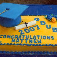 High School Grad Cake