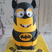 #3D #batman #minion #cake