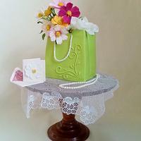 Gift Bag Cake