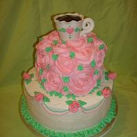 Tea and Roses Cake