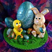 Taking eggbreak! CPC Easter Collaboration