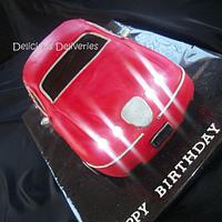 3D Carved Car Cake