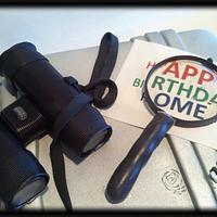 spy cake by Skmaestas