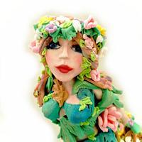Crisan Monica/Mimi Cake Figurines