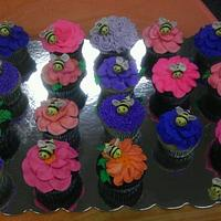 Spelling Bee Cupcakes by Bliss Pastry