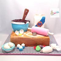 Baker's kitchen cake
