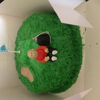 My first attempt at baking & decorating a cake  by Jodie Taylor