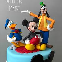 Mickey mouse and the friends