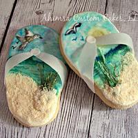 Sandal cookies