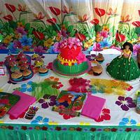 luau birthday by Christie's Custom Creations(CCC)
