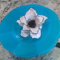 Black & White Fantasy Flower