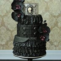 Vanessa - Penny Dreadful cake collaboration