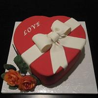 Valentine's Day Cake Dummy