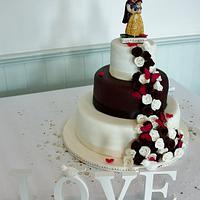 My first ever Wedding Cake! :D