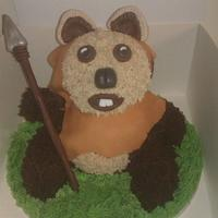 Ewok cake by suzanne Mailey