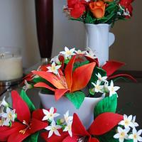 Sugar Flowers by Mary