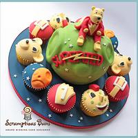 Big Cake Little Cakes : SuperTed & Friends