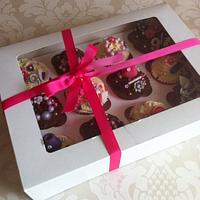 Girly Cupcakes by Carrie