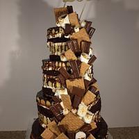 Smore Love Wedding Cake