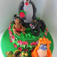 Jungle Book 3rd Birthday Cake