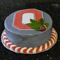 Ohio State cake