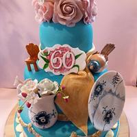 Royal Copenhagen cake
