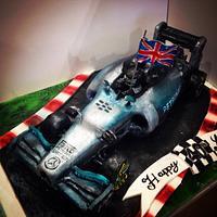 Mercedes AMG F1 car