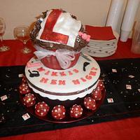 Hen night giant cupcake  by Jenna