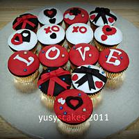 Valetine Cupcakes