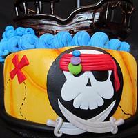 Pirate Cake by Mila O'Driscoll