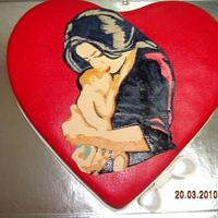MOTHER AND CHILD CAKE