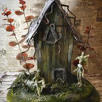 """Cake """"Fairy House"""""""