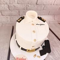 Policeman cake