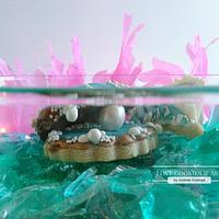 wonders of the sea Royal icing Shells