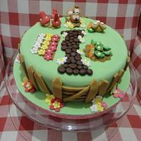 Easter Cake by Leah Stevenson