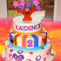 Kaidence's 2nd Birthday Cake