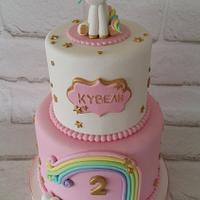 Unicorn cake!!