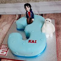 Big hero six cake