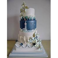 Pinwheel competition cake