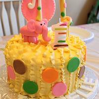 Circus Animal cake