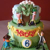 Phineas & Ferb birthday