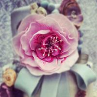vintage style fantasy flower